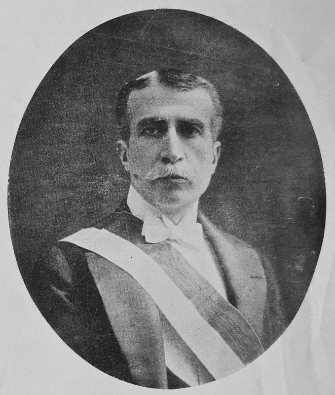 2- Augusto B. Leguia, President of Peru (1908-1912, 1919-1930)