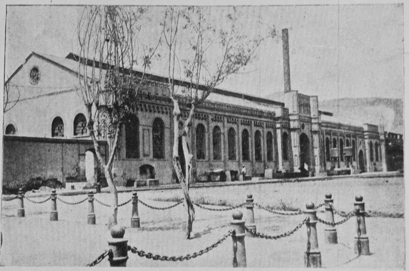 "31-Sugar processing factory on ""La Estrella"" plantation owned by Aurelio Pow San Chia's firm Pow Lung & Co. of Lima"