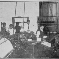 "26-Printing press of newspaper ""The Chinese Community Voice"" (La Voz de la Colonia China)"