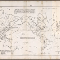 No. 1 World Map on a Mercator Projection. Prepared by Mr. Whitney for Mr. Breese's Report to the Senate, U.S. 29 Congress.&lt;br /&gt;<br />